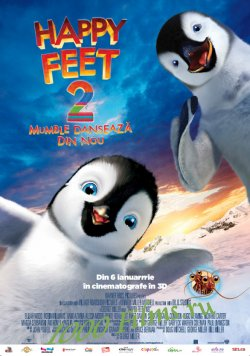 Делай ноги 2 / Happy Feet Two(2011) BDRip|HD 720p